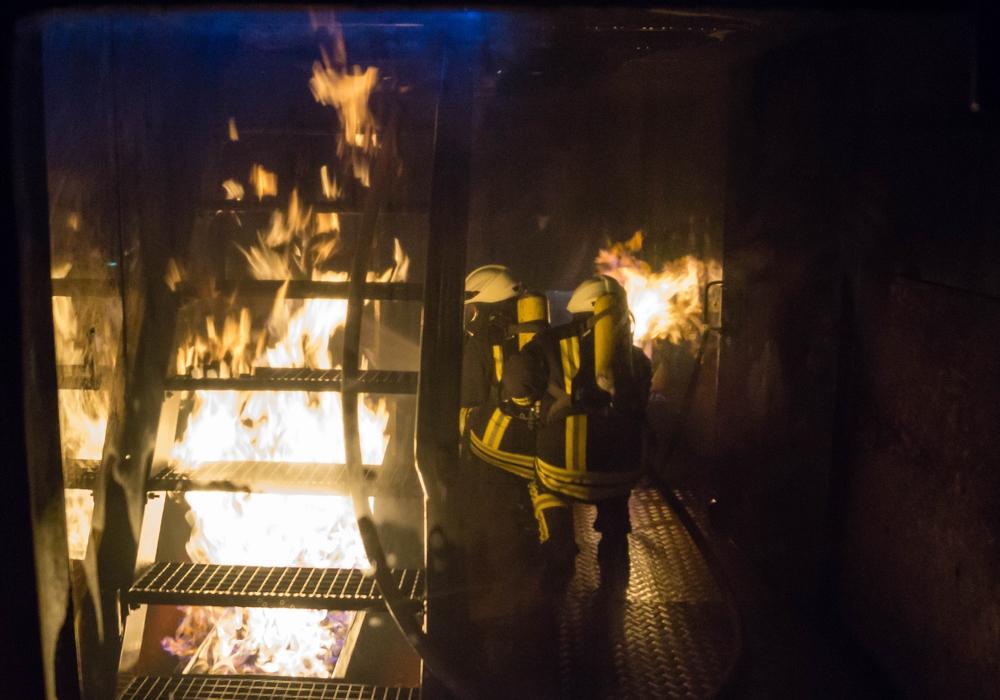 Ein heißer Übungsdienst. Foto: Tobias Paschwitz/ Freiwillige Feuerwehr Hohenhameln