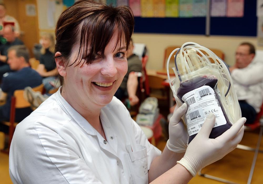 In Deutschland werden jeden Tag rund 15.000 Blutspenden benötigt um den Bedarf zu decken. Foto: DRK Wolfenbüttel