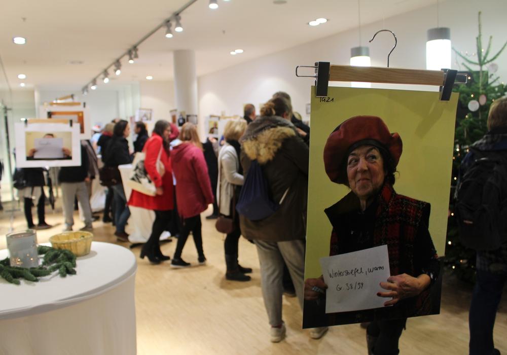 Die Ausstellung ist im Schlosscarree noch bis Ende des Jahres zu sehen. Fotos und Podcast: Alexander Dontscheff
