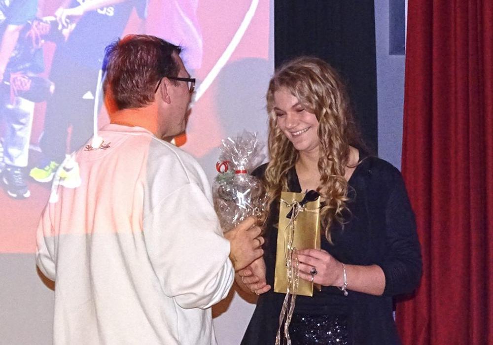 Lea Ahrens gehört zu den Eigengewächsen des LAV. Foto: Verein