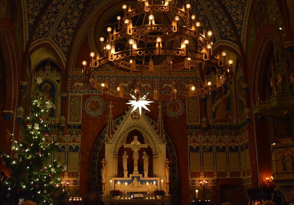 Gemeinsamer Gottesdienst am ersten Weihnachtsfeiertag in der St.-Jakobi-Kirche. Foto: Evangelisch-Lutherischer Kirchenkreis Peine