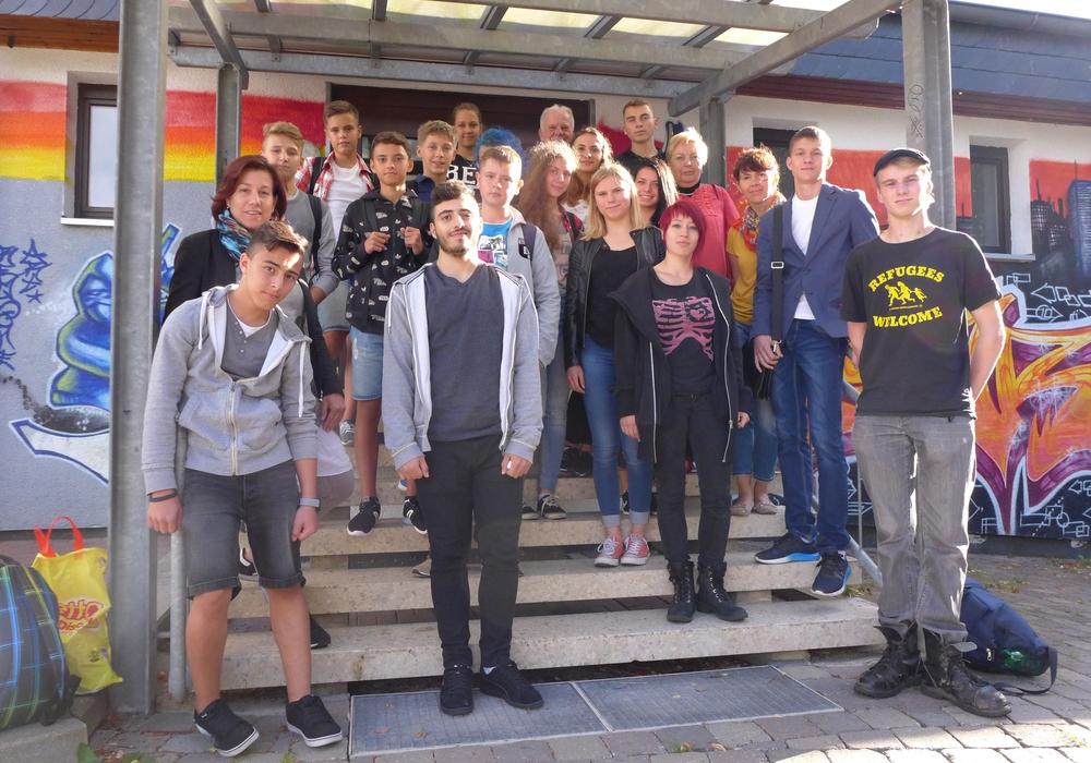 Die Gruppe aus Russland wurde in Empfang genommen. Foto: Stadt Salzgitter
