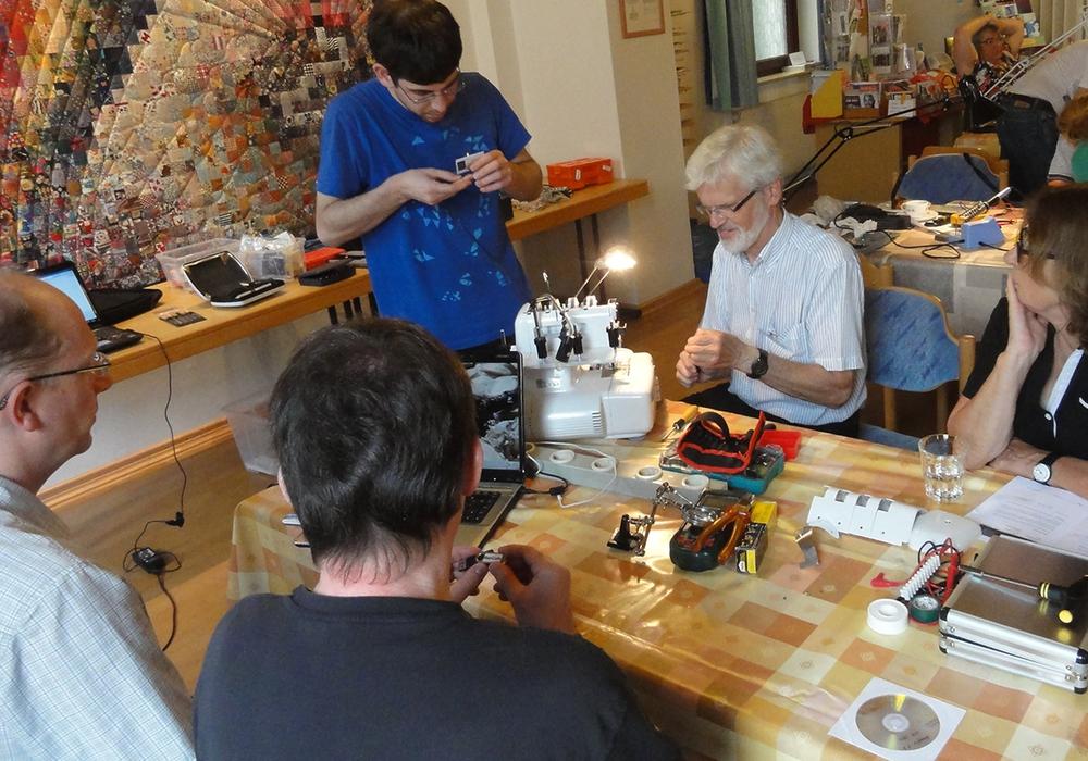 Das nächste Reparaturcafé findet am Samstag 14. Oktober statt. Foto: Freiwilligenagentur