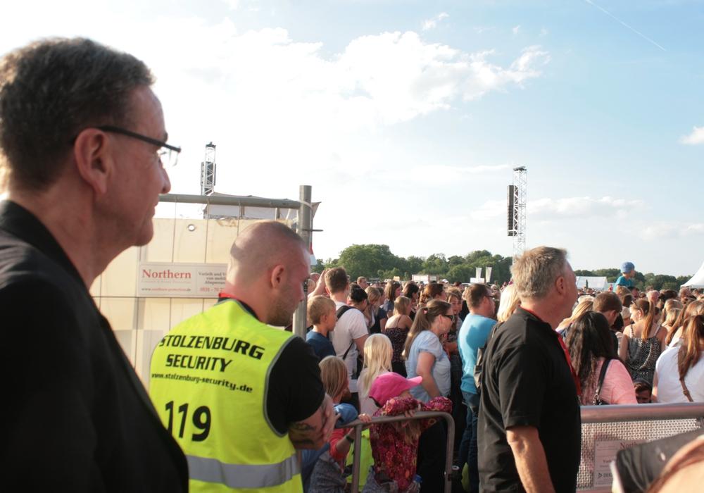 Bürgermeister Thomas Pink freut sich auf die vielen Besucher. Foto: Anke Donner