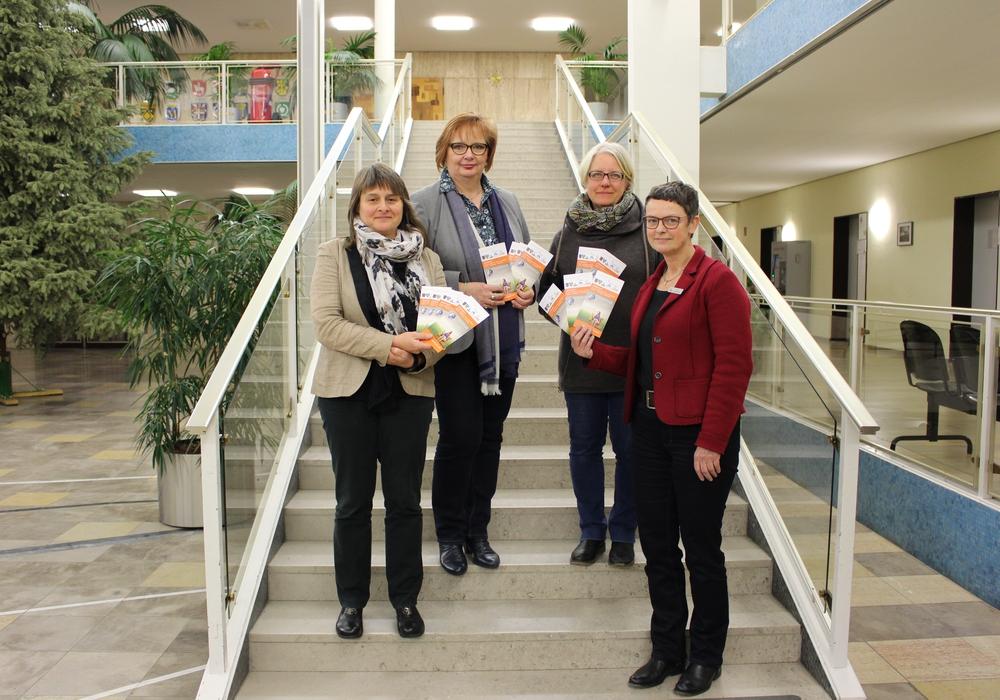 Bettina Marschall, Beate Ebeling, Ulla Evers und Elke Niederstraßer (von links nach rechts) stellten heute das PERFEKT Projekt vor.