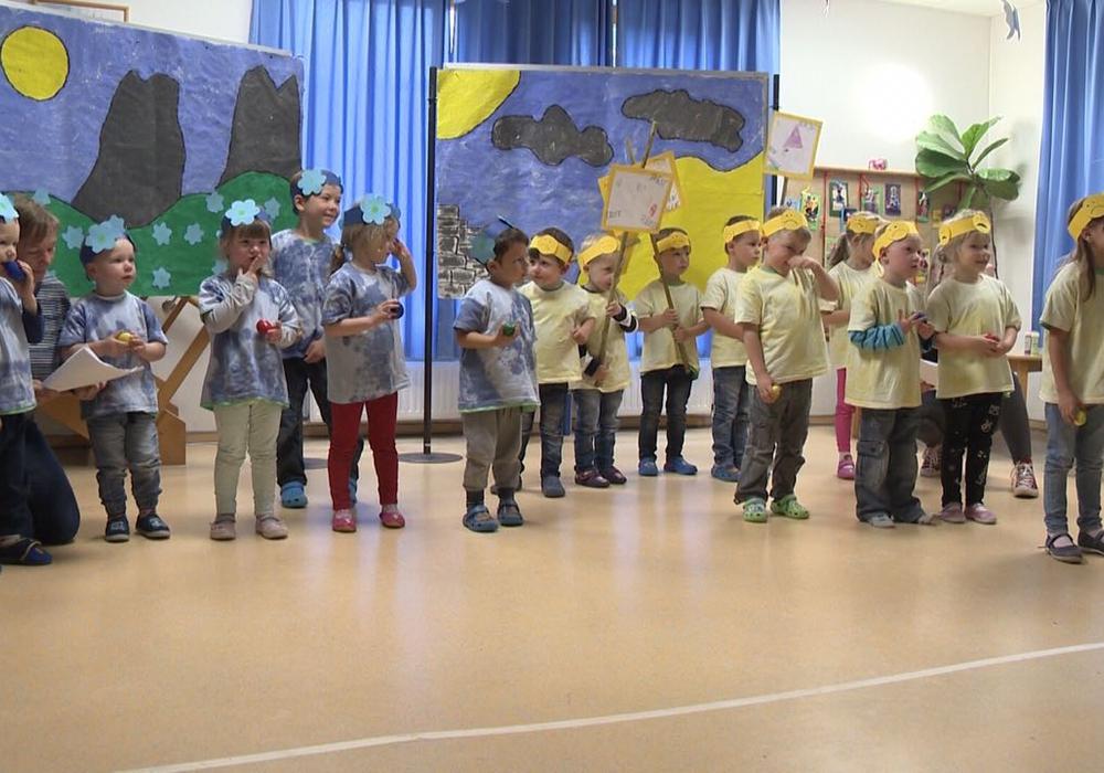 Die Kinder trugen ihr Musical vor. Fotos. Privat