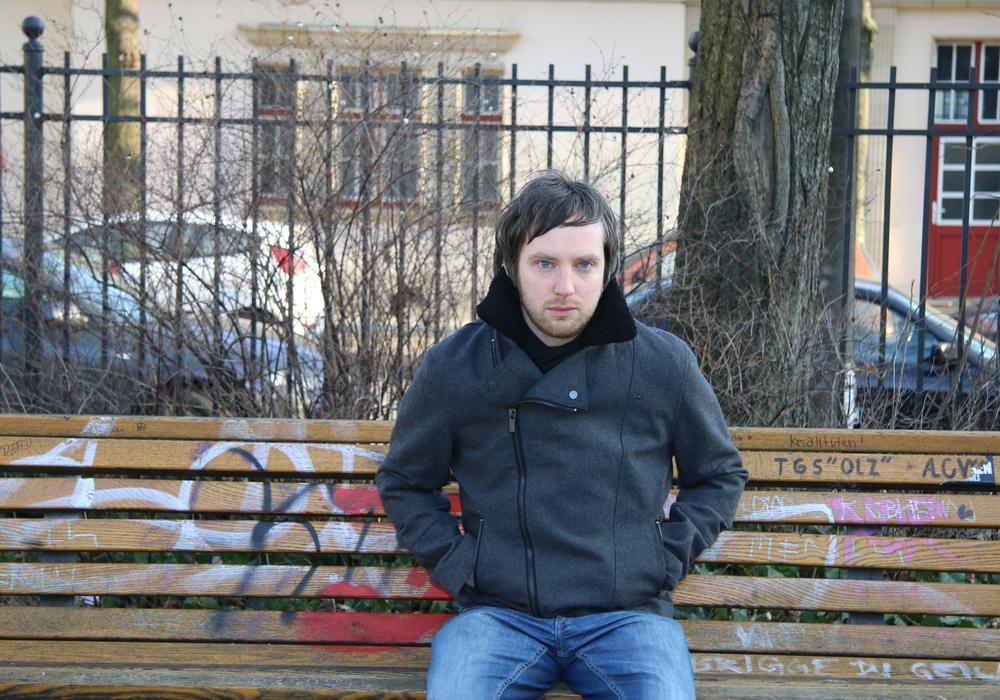 Der Braunschweiger David Zavodny traf uns in Berlin. Foto: Nino Milizia