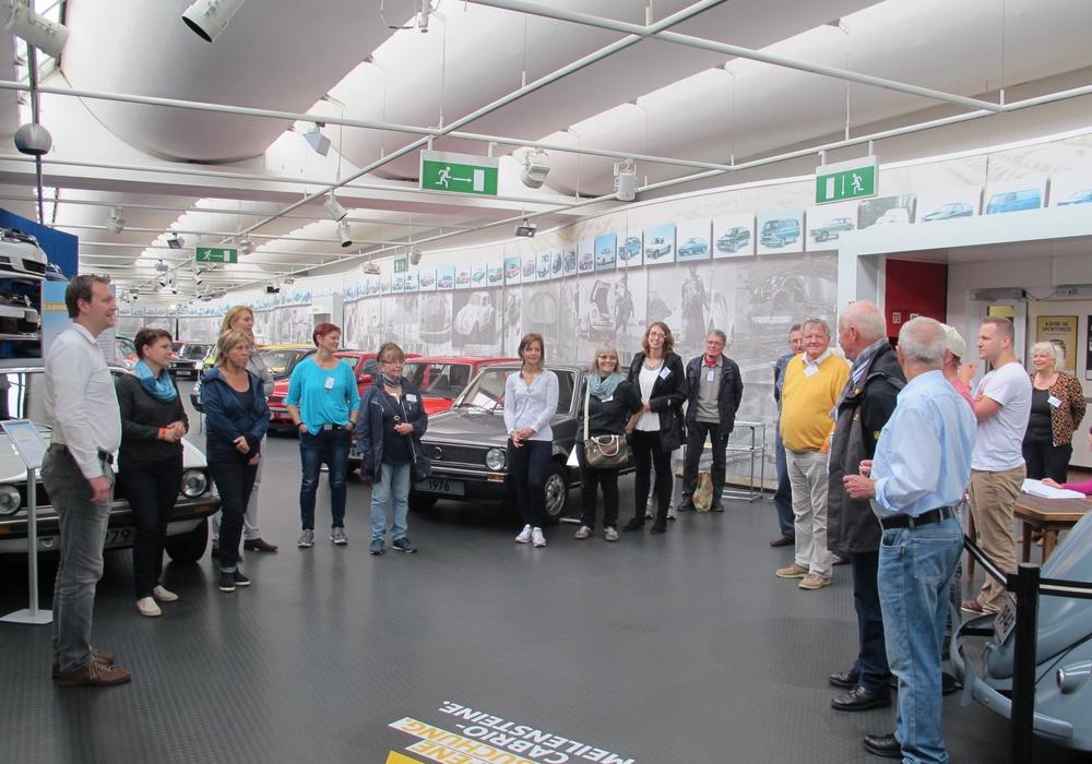 Fit für Wolfsburg im Automuseum. Foto: WMG Wolfsburg