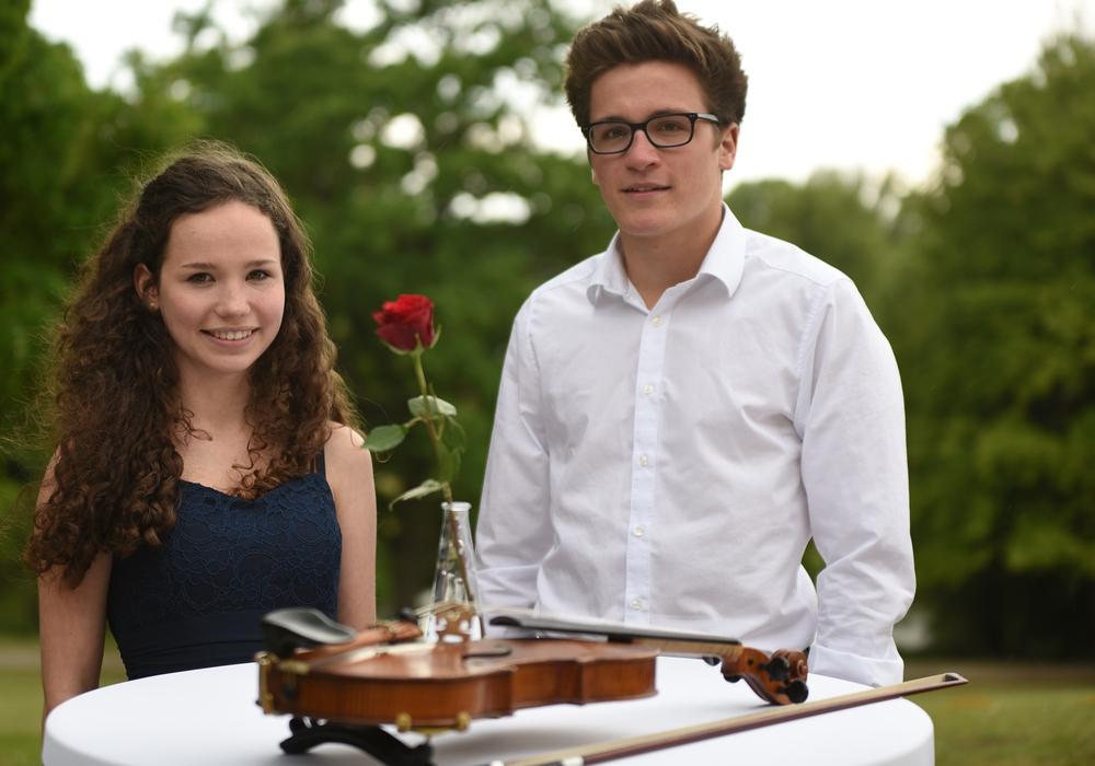 Ida Marie Reimer und Tordis Riemann (Querflöte). Foto: Veranstalter