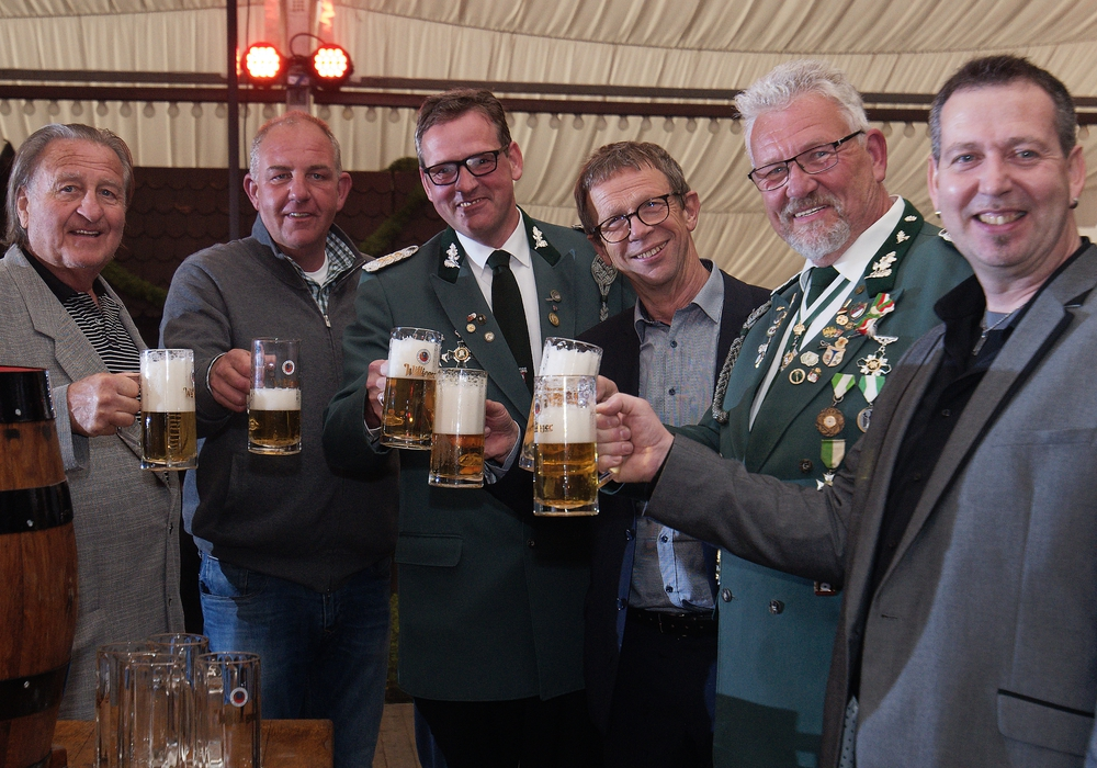 Von links: Peter Vorlop, Tino Arendt, Stefan Wolters, Klaus Mohrs, Wolfgang Schulze und Heiko Sturm. Foto: Matthias Presia