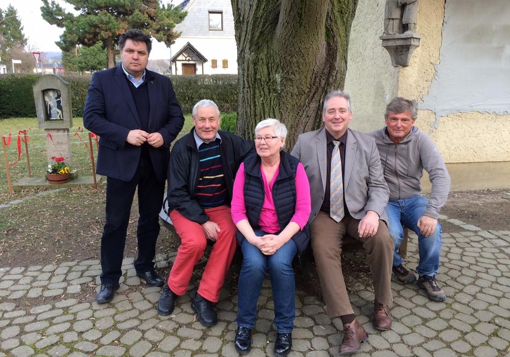Uwe Schäfer, Josef Pongratz, Uschi Ahlswede, Frank Oesterhelweg und Alexander von Veltheim. Foto: Schulze