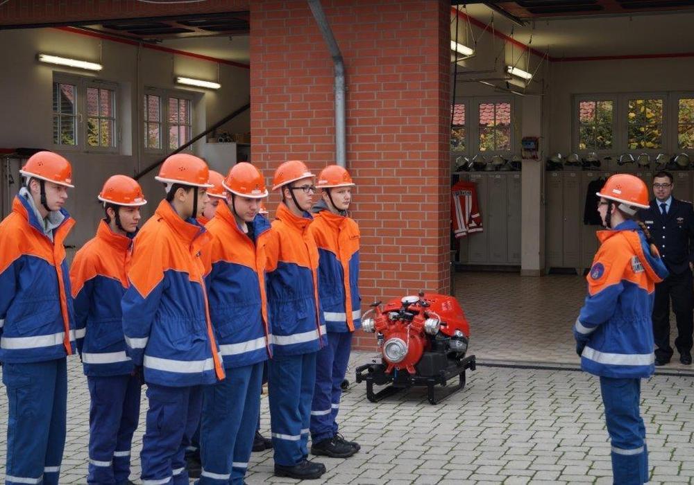 Jugendflamme wurde in Evessen verliehen. Foto: Kreisjugendfeuerwehr
