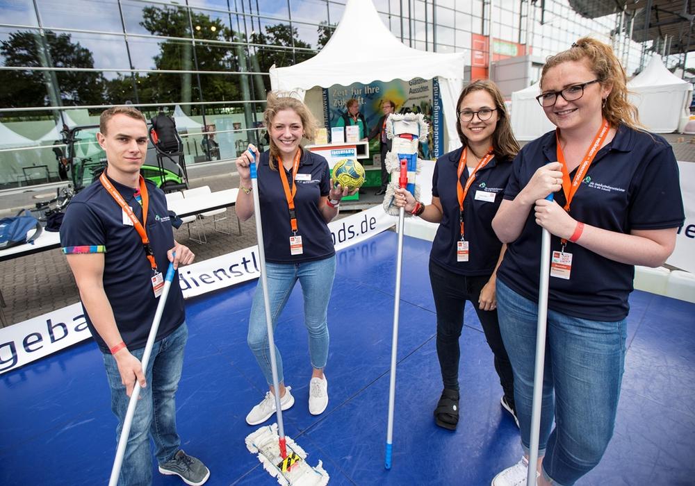 Schüler der Johannes-Selenka-Schule als Ideenfänger. Foto: IdeenExpo GmbH