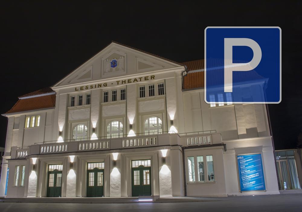 Laut Verwaltung sorgt die Parksituation am Lessingtheater zunehmend für Unmut der Theaterbesucher. Foto: Werner Heise/Nick Wenkel
