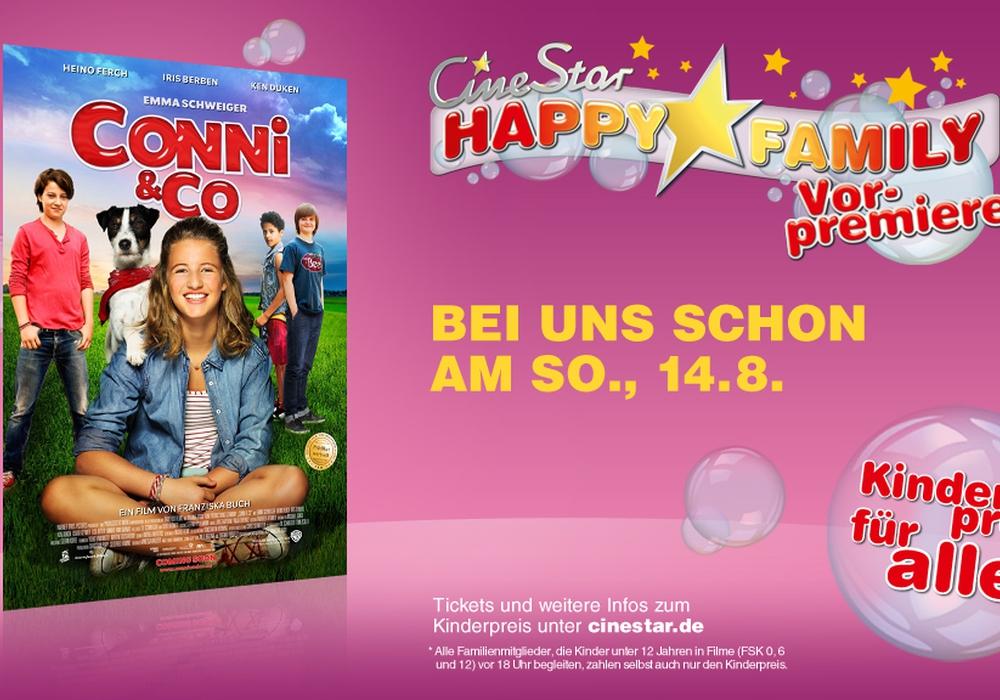 """Happy Family-Vorpremiere von """"Conni & Co."""" im CineStar. Foto: CineStar"""