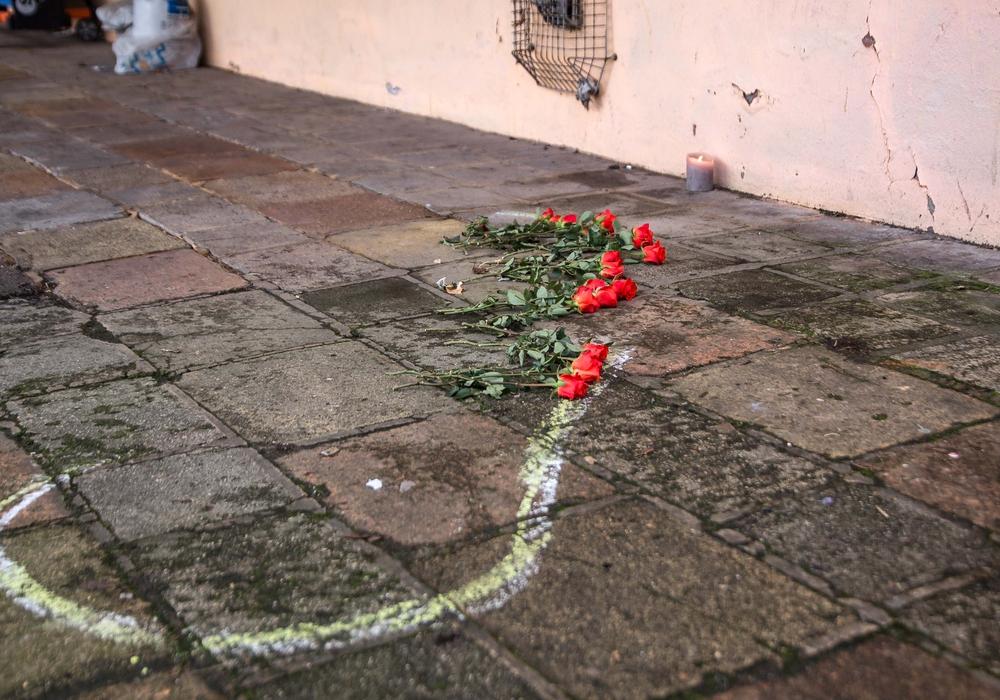 Hier starb der 25-Jährige. Foto: Rudolf Karliczek
