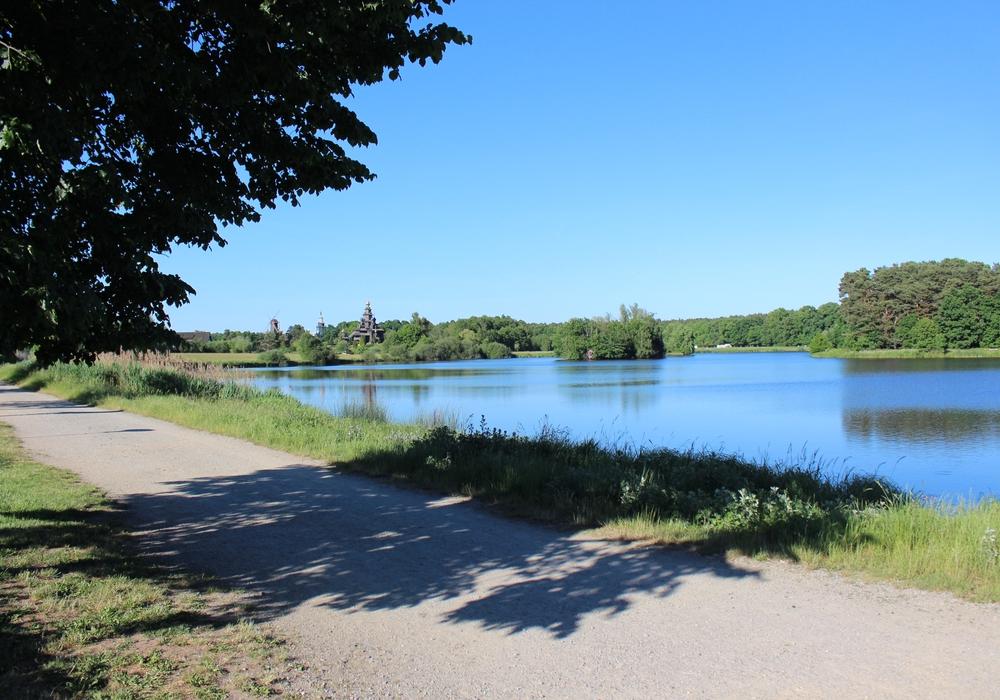 Es wird noch dauern, bis das Gesamtkonzept Schlosssee umgesetzt wird, aber der erste Schritt ist getan. Foto: Sandra Zecchino