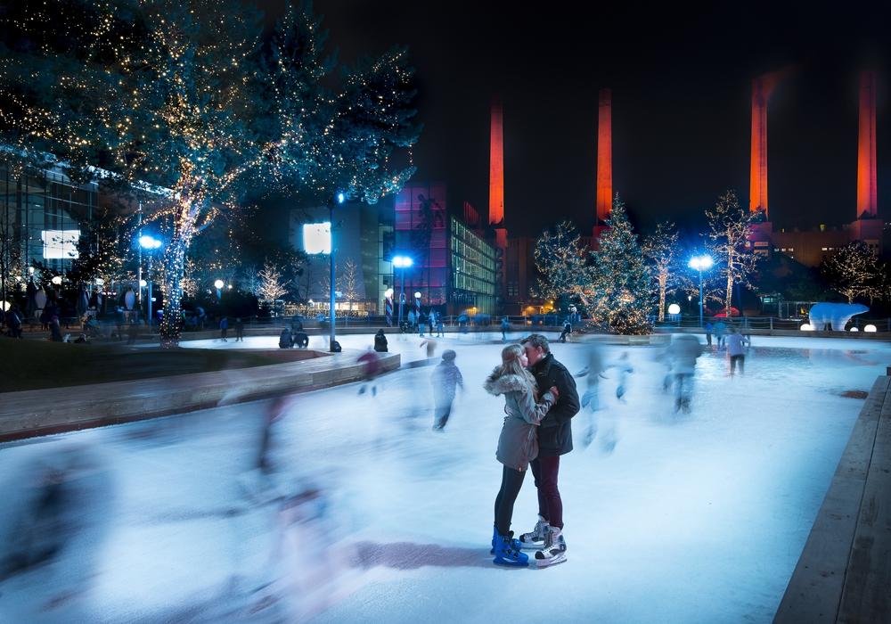 Ein magischer Ort: die zauberhafte Winterwelt in der Autostadt. Foto: Manfred Voss
