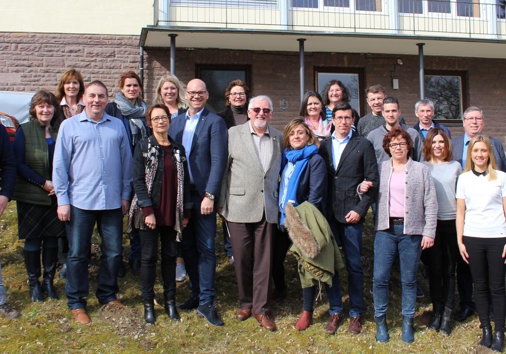 Die Seminarteilnehmer: Es waren Vertreter der Partnerstädte Arcachon (Frankreich), Beroun (Tschechien), Brzeg (Polen) und Forres (Schottland) nach Goslar gekommen. Fotos: Frederick Becker
