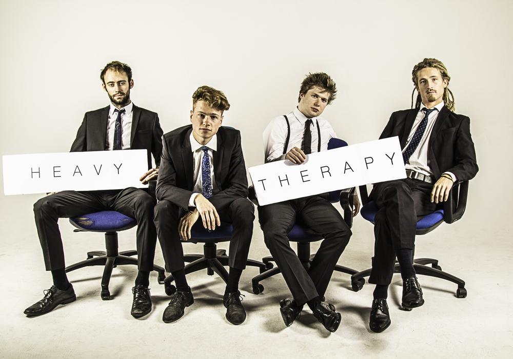 """Die vier jungen Spitzenmusiker von """"Heavy Therapy"""" sind 2017 am berühmten Jazz-Institut-Berlin zusammen gekommen. Foto: Veranstalter"""