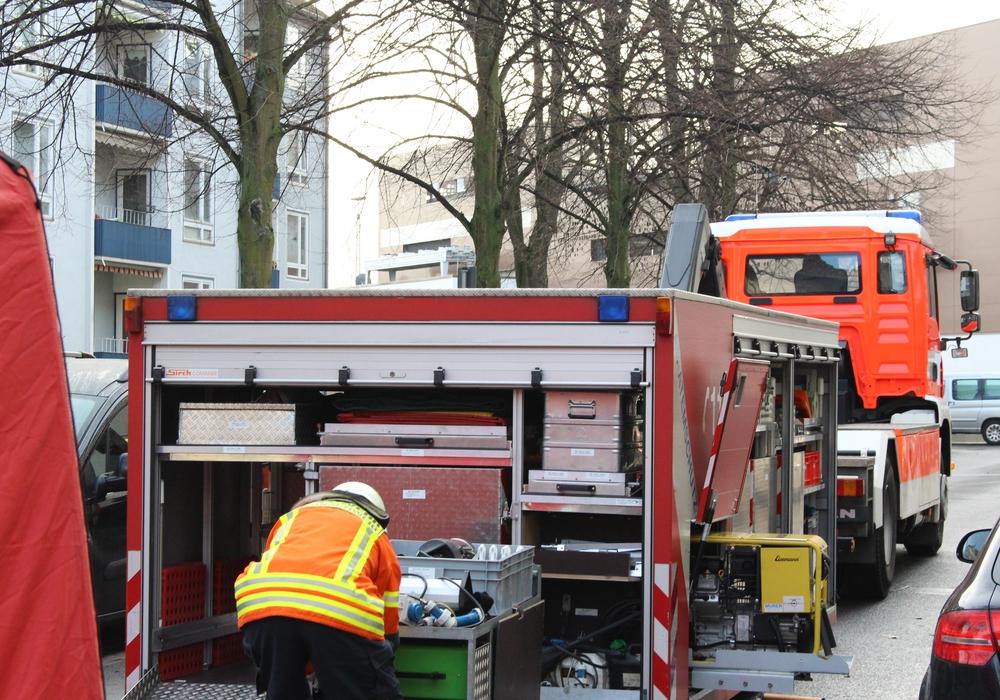Brand in der Kapellstraße- Foto: Max Förster