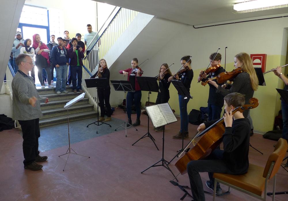 Das Junge Orchester der Musikschule Salzgitter. Foto: Stadt Salzgitter