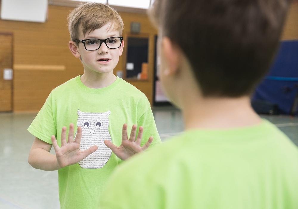 """Die United Kids Foundations unterstützt das Projekt """"Gewaltfrei Lernen"""". Foto: Foto: Peter Sierigk"""