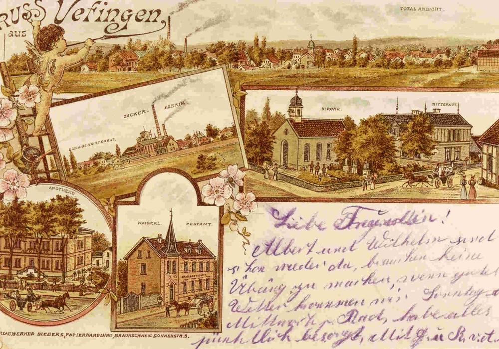 Die Karte zeigt eine historische Ansicht des Ortes. Bild: Stadtarchiv/Holger Schmidt