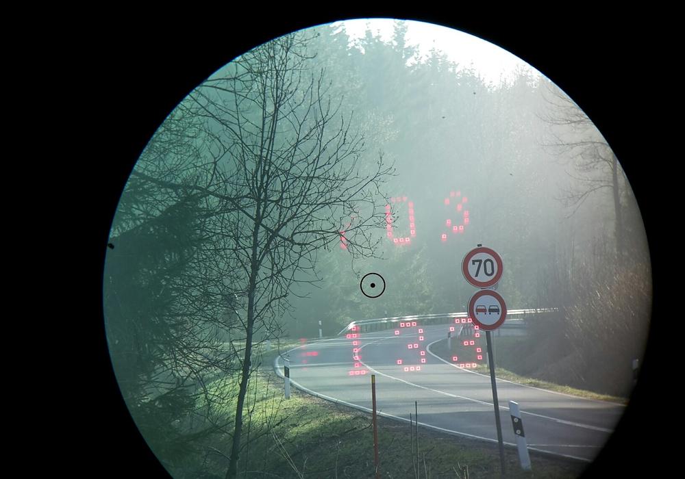 Rekordwert von 133 km/h bei erlaubten 70 km/h. Foto: Polizei Goslar