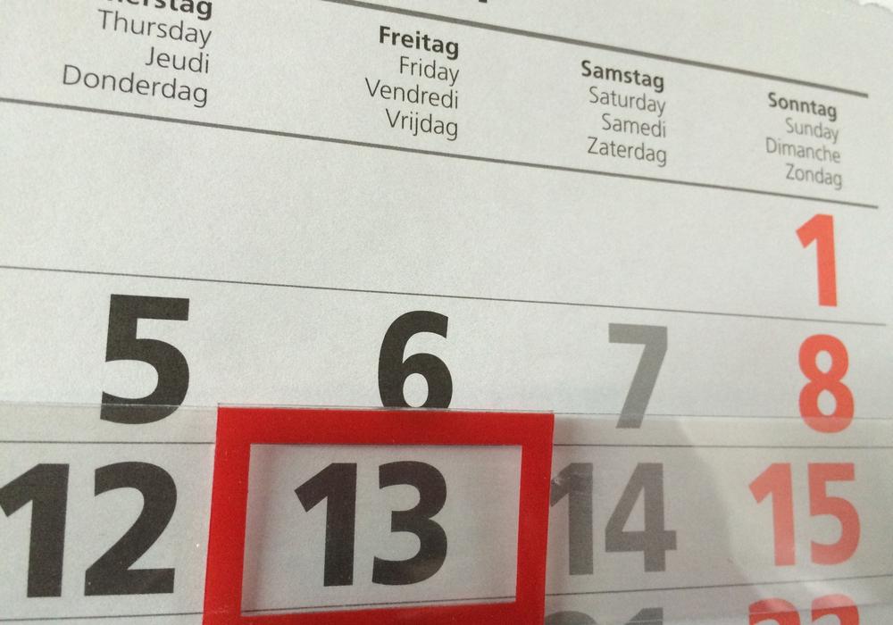 Ist Freitag der 13. ein Unglückstag? Foto: Anke Donner