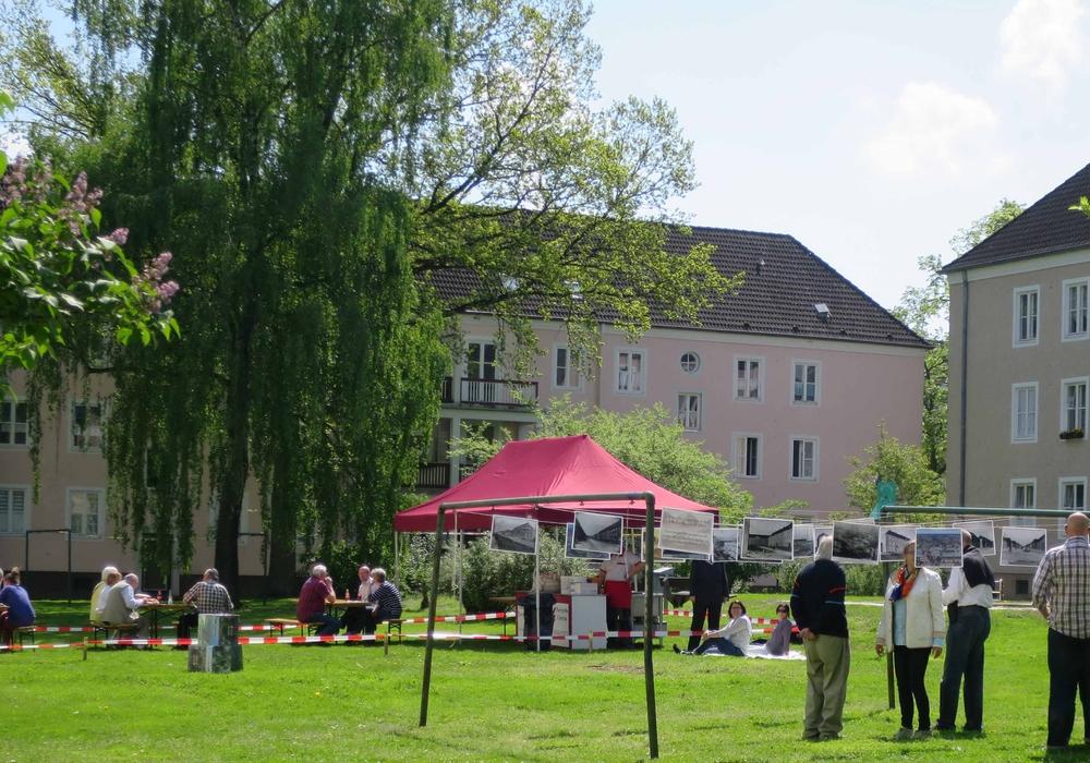 """Informative Treffen im """"Handwerkerviertel"""" und in """"Die Höfe"""". Foto: Stadt Wolfsburg"""