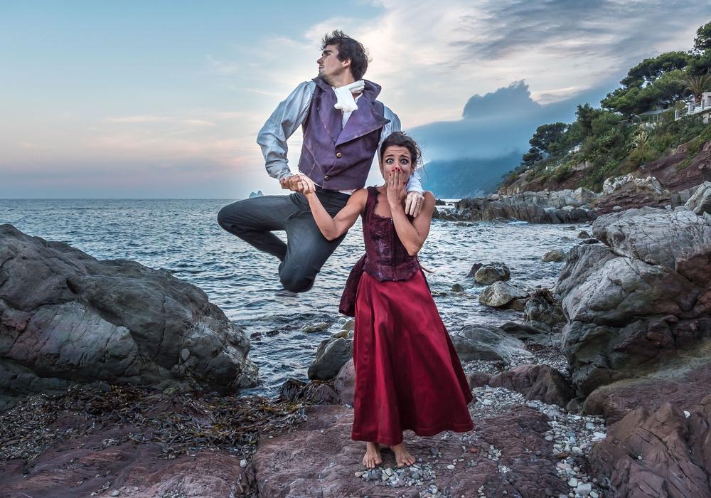 Die brasilianisch-französische Compagnie Solta. Foto: Tom Proneur