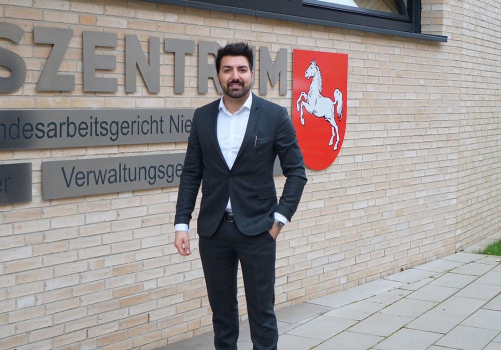 In zweiter Instanz ging es für Adnan Köklü vor das Landesarbeitsgericht Hannover. Foto: Adnan Köklü