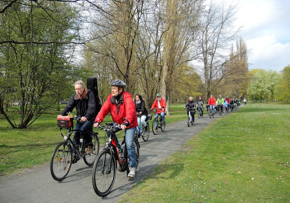 """Wolfenbüttel, Hornburg und der Bernsteinsee sind die Ziele der Touren im Rahmen von """"Radfahren verbindet"""". Foto: Braunschweig Stadtmarketing GmbH"""