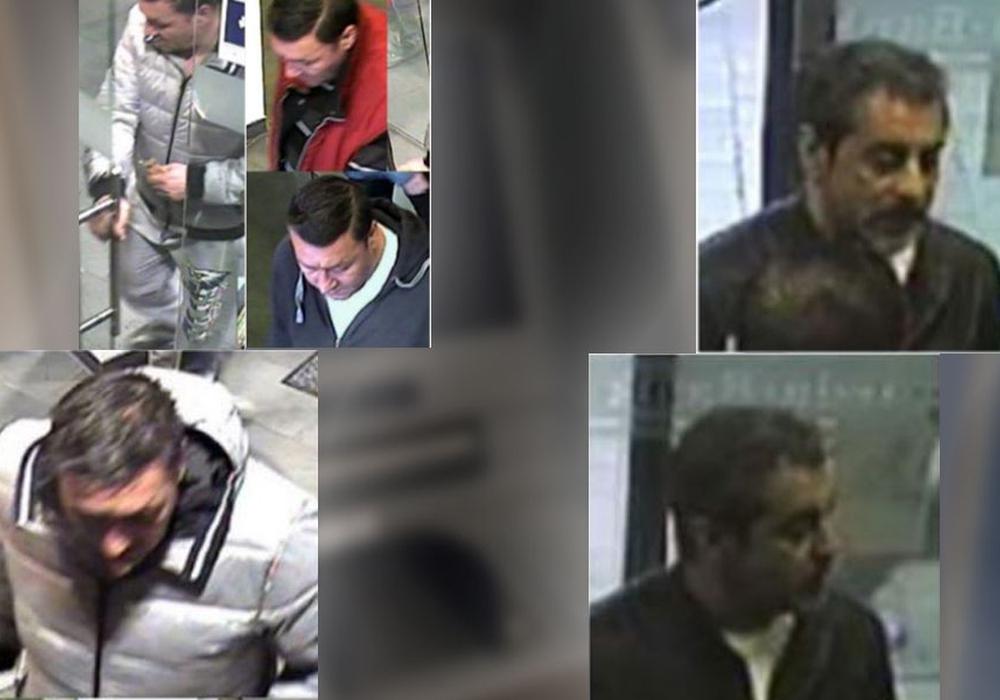 Täter 1 (links) und Täter 2 (rechts). Fotos: Polizei