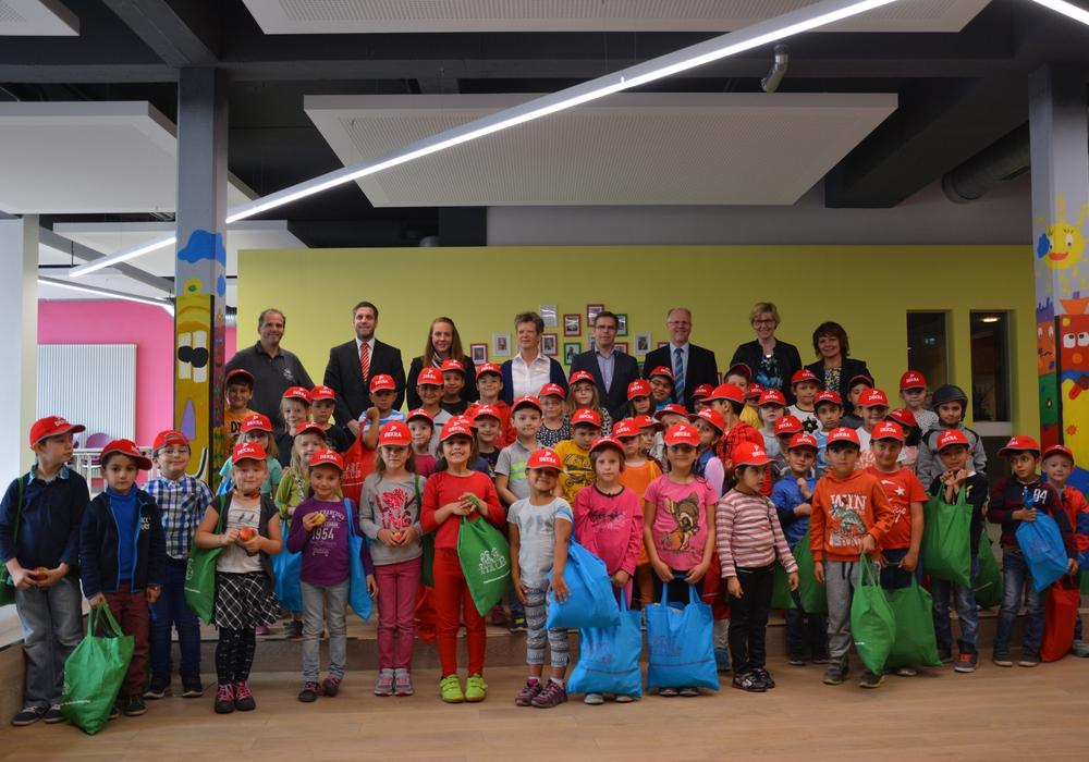 Schulanfänger 2016. Foto: Familienzentrum Peine.