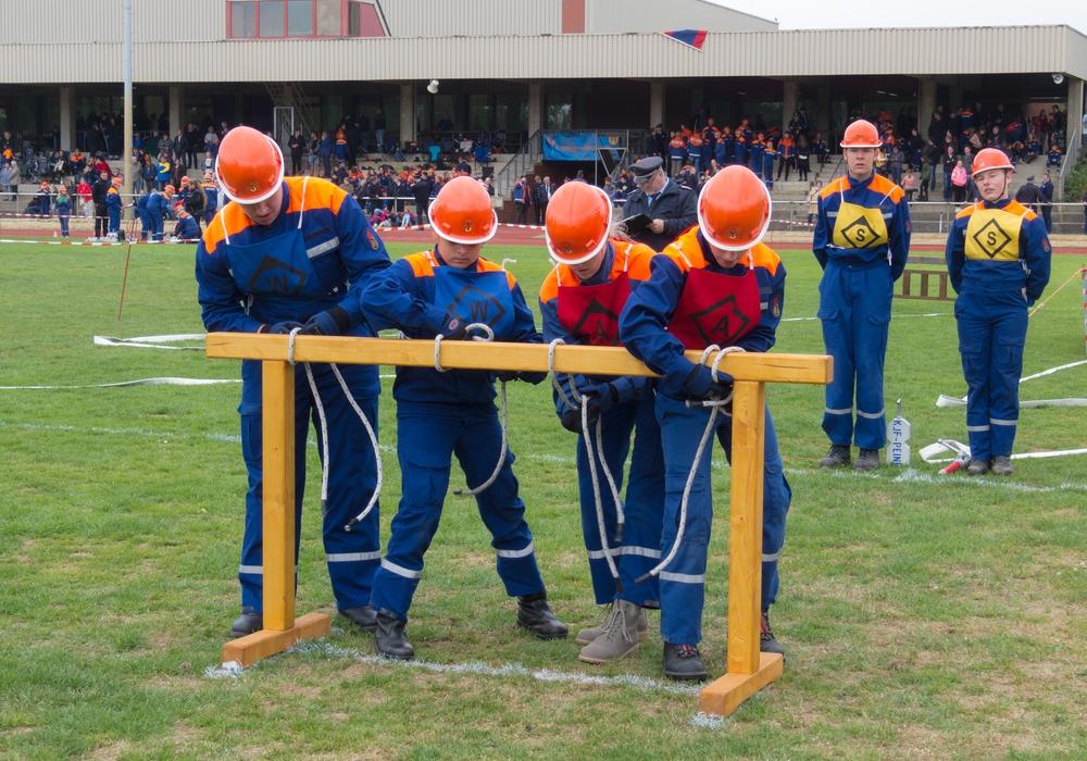 Die Jugendfeuerwehren Flechtorf und Beienrode sind bei Bezirkswettbewerben vertretenFotos: Gemeinde Lehre