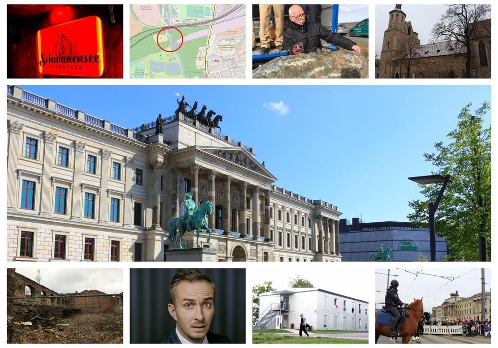 regionalHeute.de blickt auf das Jahr 2017 zurück. Heute: Der erste Teil des Jahresrückblicks. Foto-Collage: Nick Wenkel/Archiv