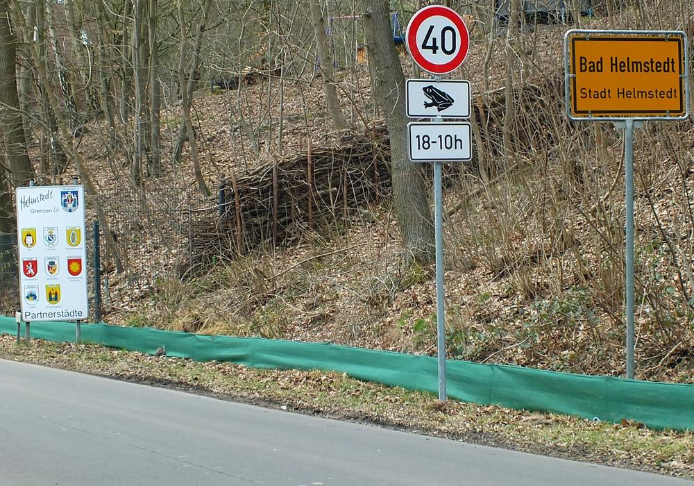 Die Zeit der Kröˆtenwanderung ist in Helmstedt bald vorüber. Foto: Verkehrswacht Helmstedt
