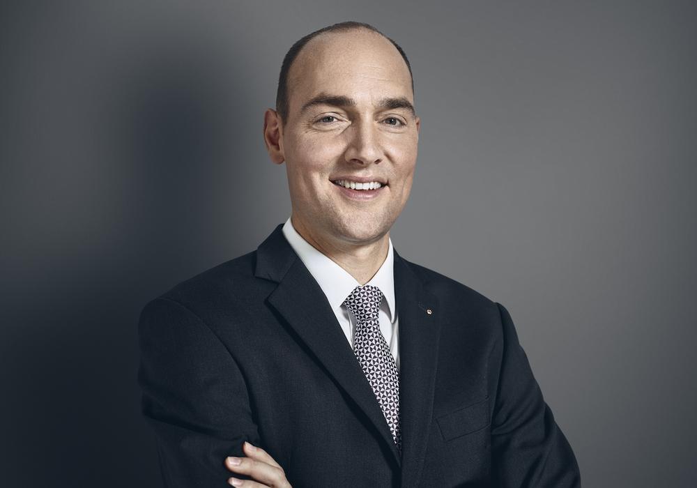 Stefan Riecher, Bankdirektor der Braunschweiger Privatbank. Foto: Volksbank BraWo
