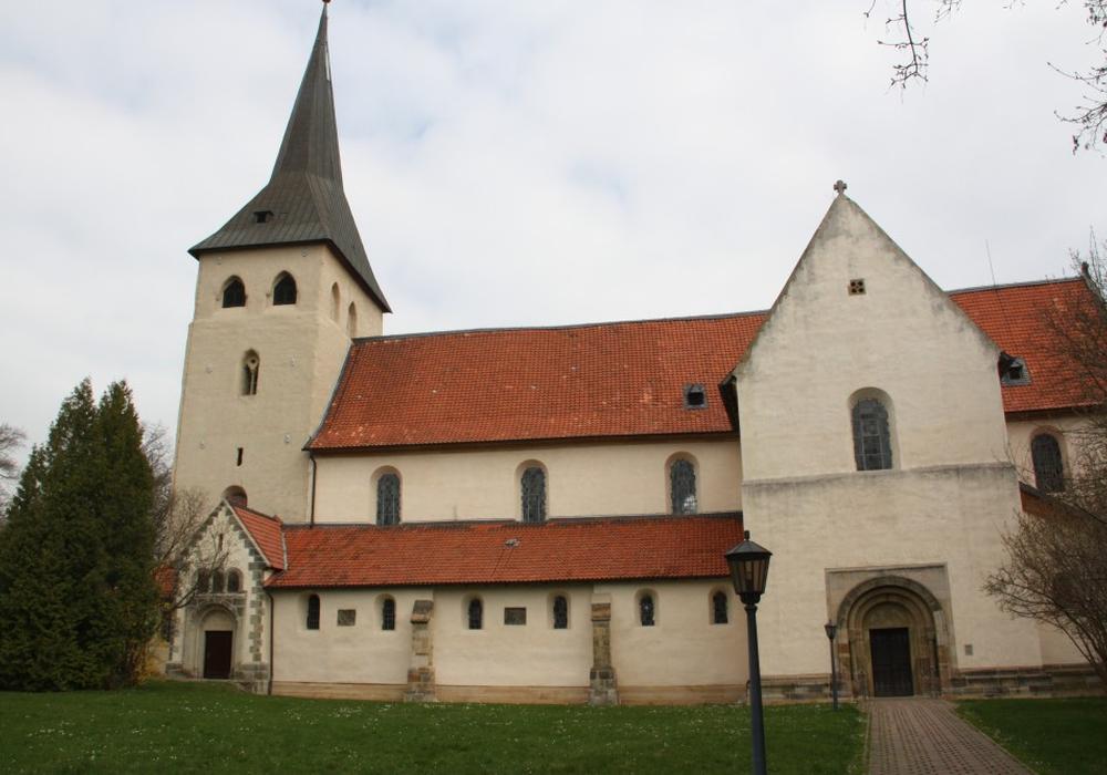 Katholische Kirche St. Peter und Paul in Heiningen. Foto: ©HAB