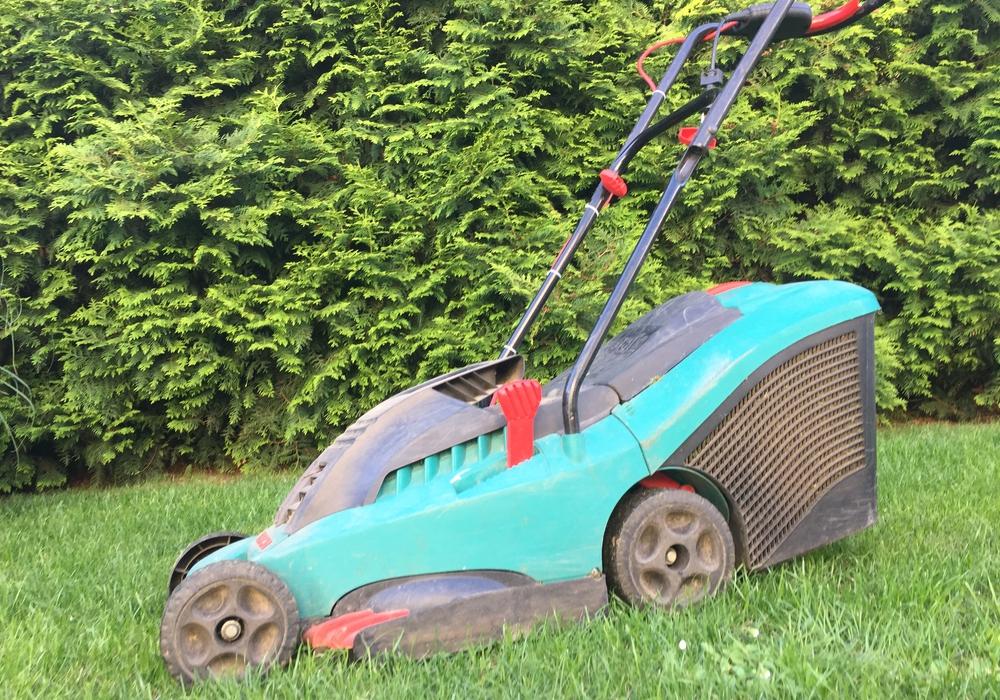 Rasenmäher Mittagsruhe