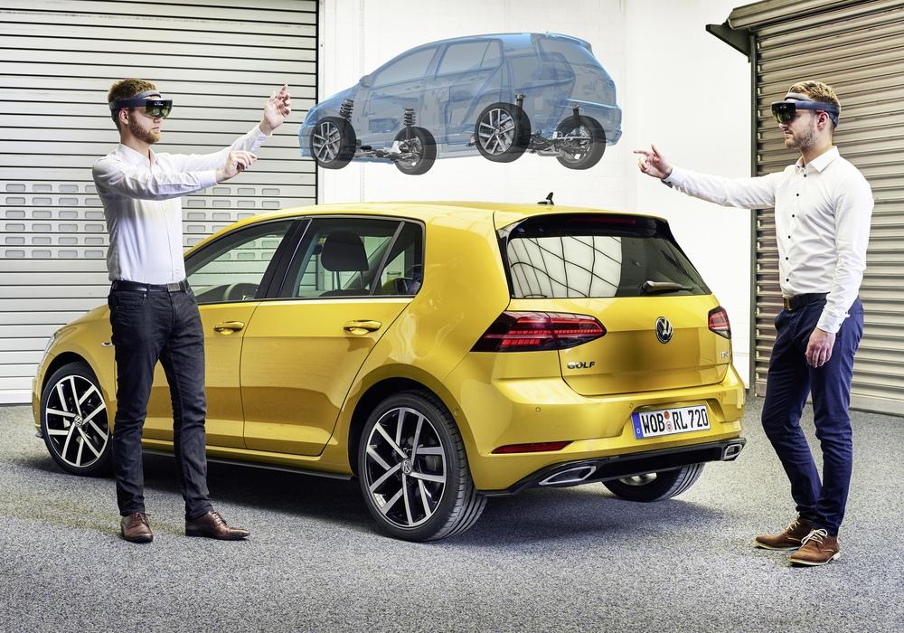 Volkswagen nutzt bei der Entwicklung nun Virtual Engineering. Foto: Volkswagen