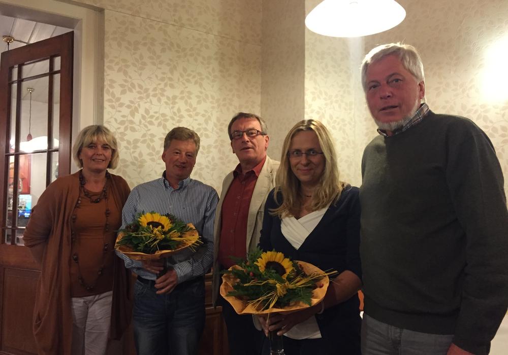Heike Schmerse, Peter Siebert, Axel Kohnert, Stefanie Donner, Reinhard Voges. Foto: Privat