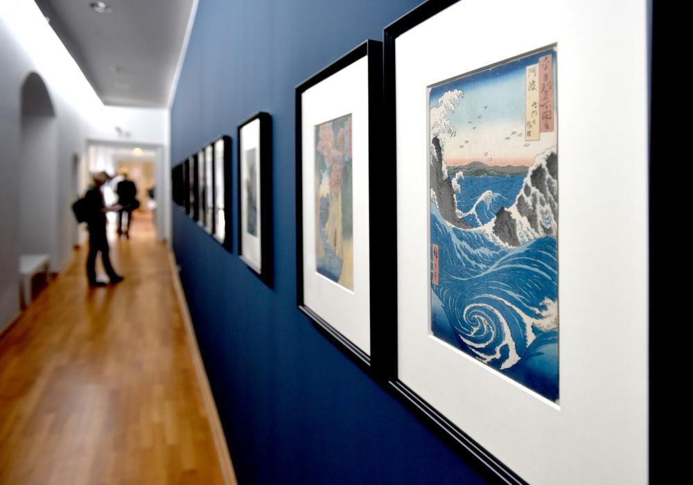 Die städtische Galerie zeigt japanische Kunst. Foto: Lars Landmann