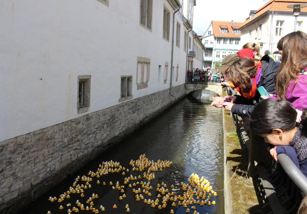 Das nächste Entenrennen findet am Weltkindertag statt. Symbolfoto: Sina Rühland