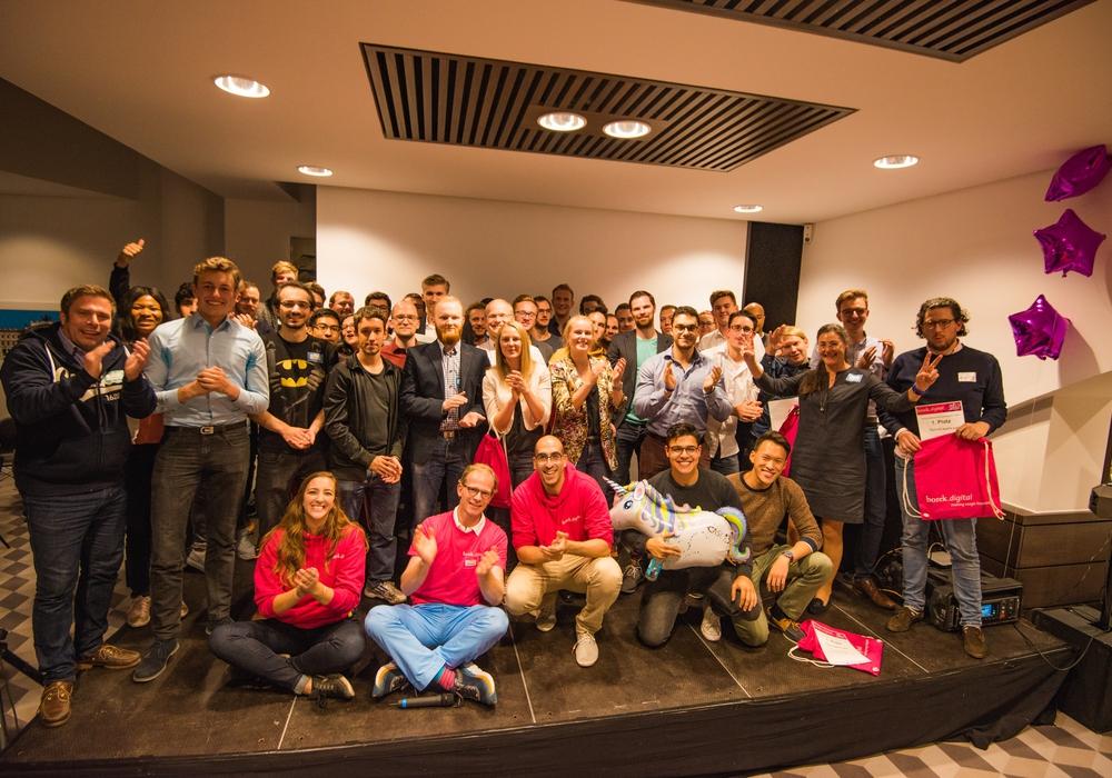 Die Start-Up-Szene kam in Braunschweig zusammen. Foto: borek.digital