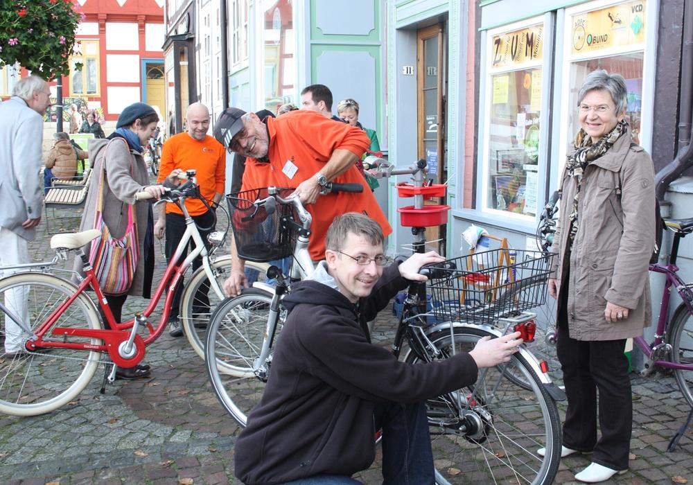 Am 2. März findet wieder eine Fahrradcodierung durch den ADFC im Z/U/M/ statt. Archivfoto