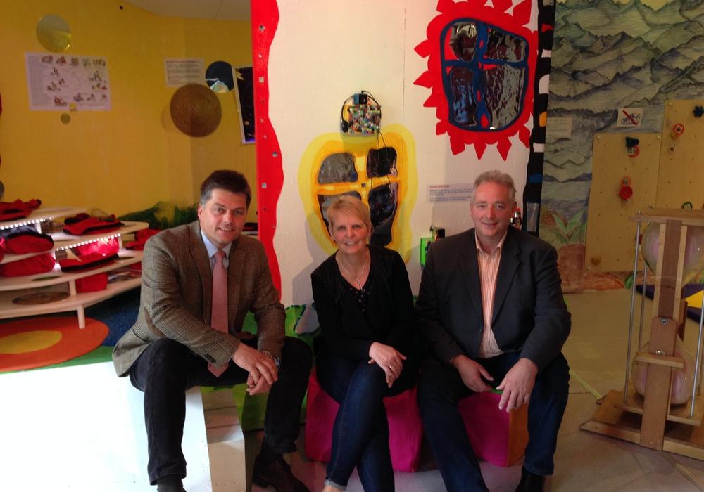 Von links:  Jörg Hillmer, Annette Goslar und Frank Oesterhelweg. Foto: Privat