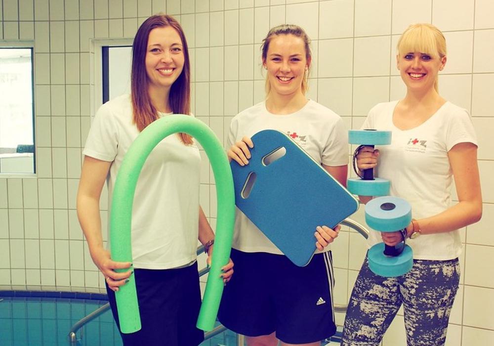 Die Kursleiterinnen im ITZ Lena Bartelborth, Alina Biehl und Anna Horstmann (v.l.). Foto: Privat